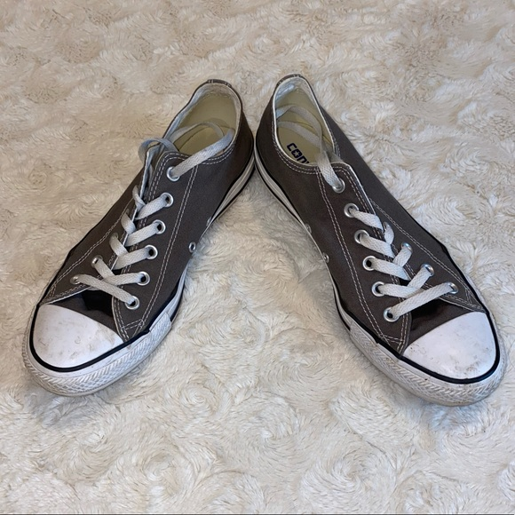 Gray Men's Converse All Star Sneakers Size 10